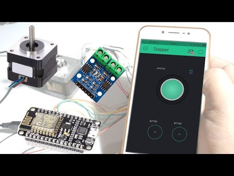 How To Control Stepper Motor Using L9110 Driver Module With NodeMCU