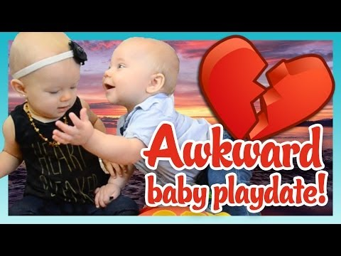 vlogging - Things get awkward when Oliver confuses a playdate with a real date! SUBSCRIBE to never miss the cuteness! http://bit.ly/SubtoBabyLeague New