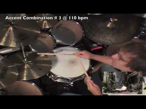 Drum Lesson: Billy Ashbaugh - 3 over 4 Linear Groove Part 2