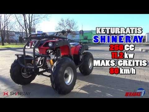 ATV Shineray, keturračiai