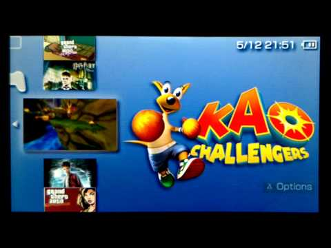 KAO Challengers on a PSP Go