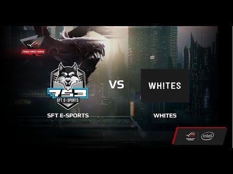 SFT e-Sports vs Whites, Первая карта, Финал ROG Masers Russia 2017 Finals