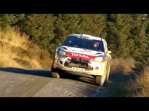 Wales Rally GB 2013: Kubica DS3 WRC test
