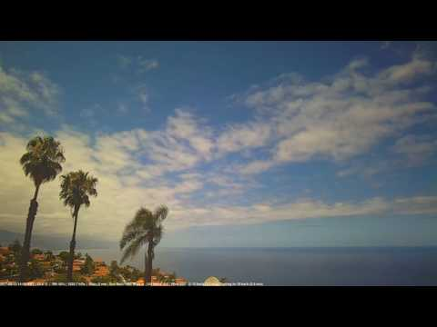 North Tenerife Weather Video 13 May, 2017
