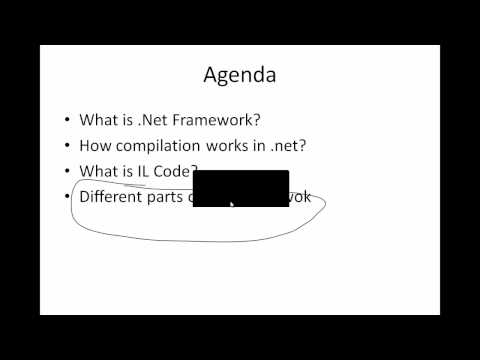 framework - In this video, we will try to undestand the basics of .net framework. Will try to cover basic .net fundamentals like CLR,CRS... For more such videos and arti...