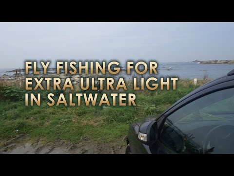 Fly Fishing for Extra Ultra Light in Saltwater