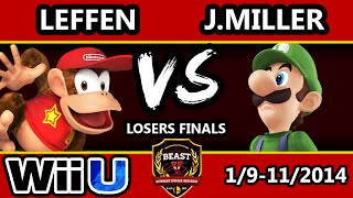 Reminder that this was once considered one of the hypest sets of Smash 4. Leffen v J.Miller @ B.E.A.S.T 5