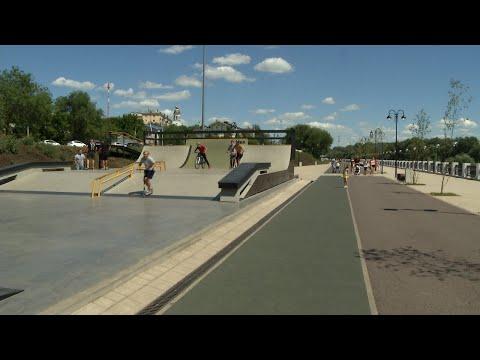Очередные ЯЖЕМАТЬ с ЯЖЕБАТЬ на скейт парке