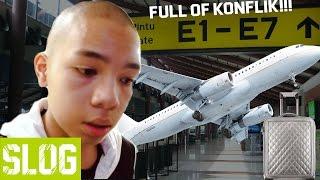 Video Ketinggalan Pesawat + koper hilang!!! - VLOG PENUH KONFLIK MP3, 3GP, MP4, WEBM, AVI, FLV Desember 2017