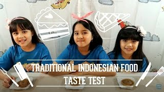 Video Traditional Indonesian Food Taste Test (With Nicole and Pat) MP3, 3GP, MP4, WEBM, AVI, FLV Februari 2018