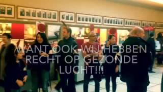 Rode-bollen-actie van Borsbeekstraat op infomoment Curieuze Neuzen