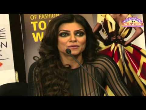 Sushmita Sen And Shilpa Shetty Interview At LFW 20