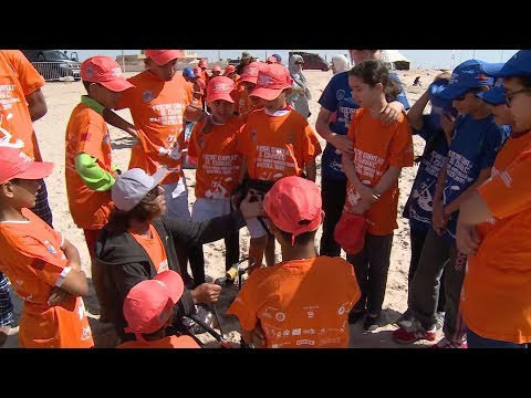 يوم للأطفال على هامش بطولة العالم للكايت سورف الأمير مولاي الحسن بالداخلة