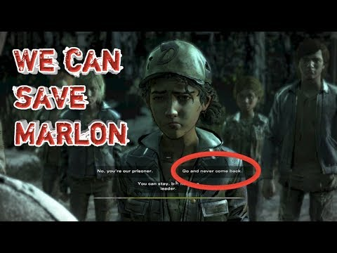 Can we save Marlon? ||The Walking Dead Ep.1||