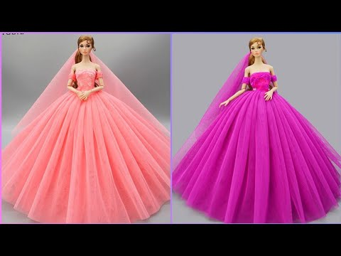 Gorgeous DIY Barbie Doll Dresses | Toy Hacks You'd Wish You'd Known Sooner