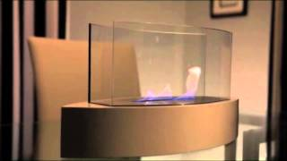 The Lexington Ethanol Fireplace, a canoe-shaped model, is ideal for creating emotional decor. Providing a 360 degree view of...