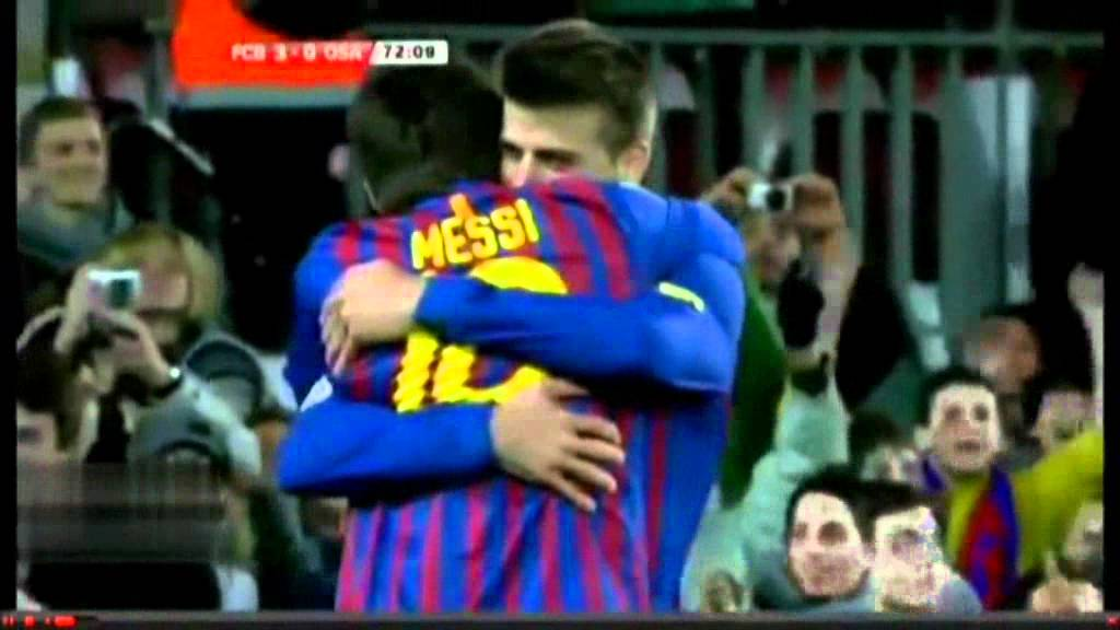 Barcelona vs Osasuna 4-0 All Goals & Full Match Highlights 04/01/2012 Copa Del Rey