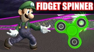 What if Luigi Had a Fidget Spinner In Smash Bros