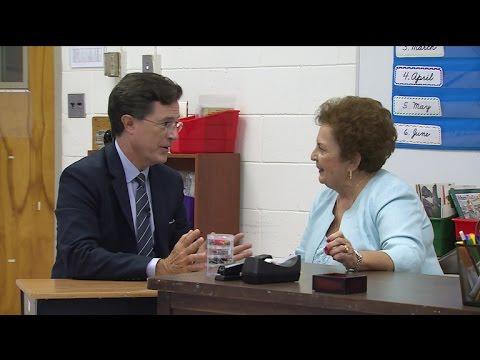 Stephen Visits His Favorite Teacher
