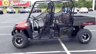 7. 2014 Polaris Ranger 570 Crew Red