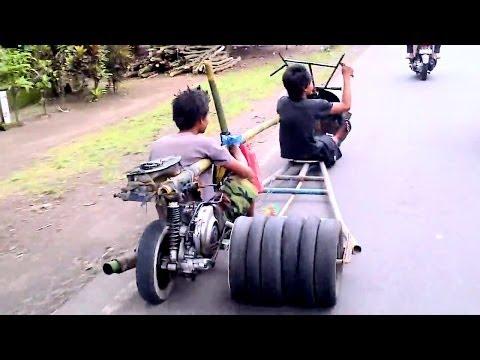 Xe tự chế độc và lạ
