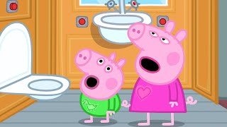 Peppa Pig Official Channel   Peppa Pig's Bedtime on a Train!