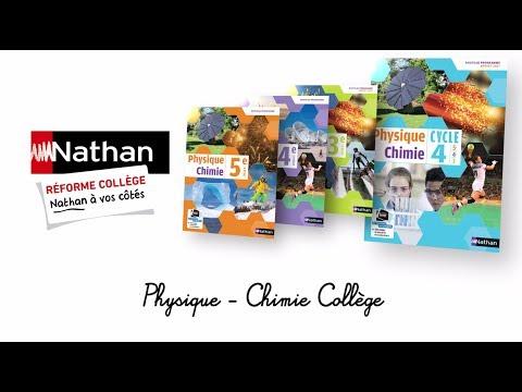 Présentation du manuel de Physique-Chimie cycle 4 - Nathan Collège