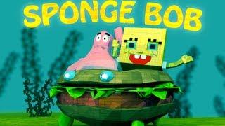 SPONGEBOB MOD: Minecraft SPONGEBOB Mod Showcase! (SpongeBob, Patrick&More!)