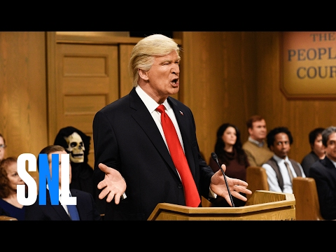 Saturday Night Live Donald Trump on The People s