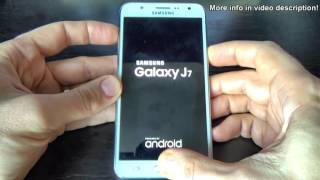 Samsung Galaxy J7 HARD RESET   YouTube