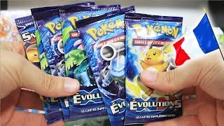 Opening FRENCH Booster Packs