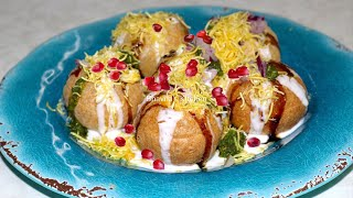 Dahi Sev Puri Video Recipe | Indian Street Food by Bhavna's Kitchen
