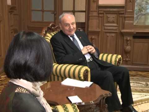 Nicolae Timofti met the Vietnamese Ambassador Ho Dac Minh Nguyet