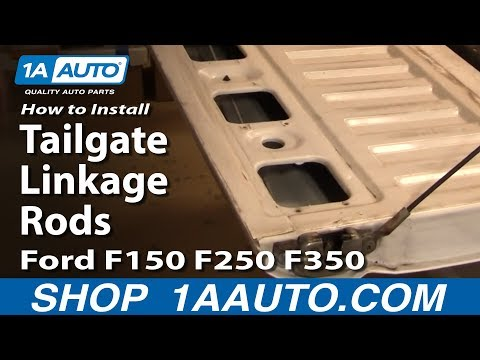 How To Install Replace Tailgate Linkage Rods Ford F150 F250 F350 92-96 1AAuto.com