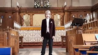 Boy Treble, Soprano Singer, Amazing Recital, 11 year old Sebastian