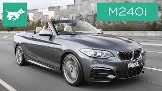 The M240i is BMW's fastest 2 Series convertible –and it's got even more torque than the halo BMW M2! But is the $83,900 BMW M240i worth it? We drive it and find out. What do you think? Let me know in the comments! SUBSCRIBE and join our car community! http://www.youtube.com/user/chasingcarsaustralia?sub_confirmation=1Covers the design, interior, practicality, price and driving of the BMW M240i convertible.COMMENT your thoughts below and SHARE with your friends.READ our full 2017 BMW M240i test here: http://chasingcars.com.au/Australian video car review of the 2017 BMW M240i Convertible. See more video car reviews and BMW news at http://chasingcars.com.au.Music by Lakey Inspired:https://soundcloud.com/lakeyinspired