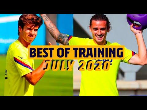 🔥 SKILLS, GOALS, FUN... BEST OF BARÇA'S TRAINING *JULY 2020*