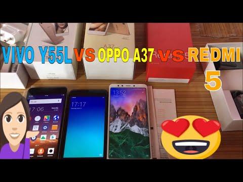 Video Redmi 5 vs Vivo Y55L vs Oppo A 37 full unboxing +reviews under 10000 rupees  Smart Phone.हिंदी मैं। download in MP3, 3GP, MP4, WEBM, AVI, FLV January 2017