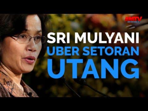 Sri Mulyani Uber Setoran Utang
