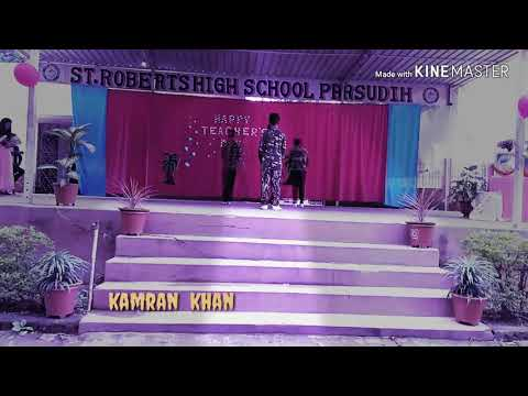 Dangal  dance  performance  by  kamran  khan   😊 teacher  day celebrations