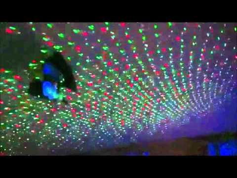 Mini stage lighting laser фото