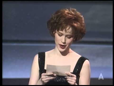 """Platoon"" winning the Oscar® for Film Editing"