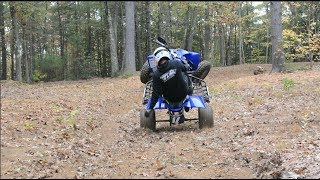 6. Yamaha YFZ450R Raw Fall Riding