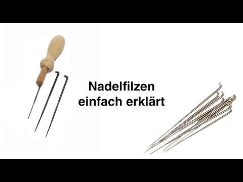 Filzen mit der Nadel – Design legen, nadeln und danach Nassfilzen