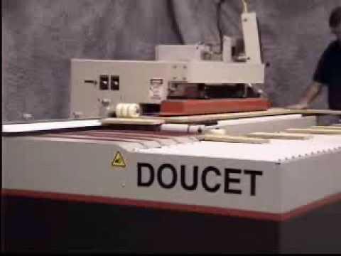 Doucet FEEDBACK Return Conveyor for Shape & Sand Machines - Akhurst Machinery