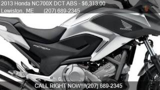 10. 2013 Honda NC700X DCT ABS  for sale in Lewiston, ME 04240 at