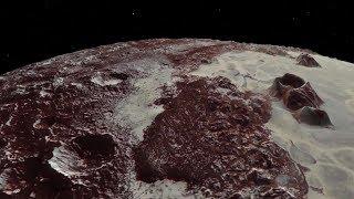 Eine NASA-Mission liefert neue Daten über Pluto und ermöglicht so einen virtuellen Tiefflug über der Planetenoberfläche. Nicht einmal eine Raumsonde kommt dem Planet so nahe.