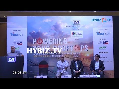 , CII Workshop on Accelerating Indias Rooftop Solar