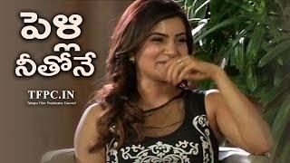 Video Samantha Love Proposal To Naga Chaitanya  | Exclusive | Rare | TFPC MP3, 3GP, MP4, WEBM, AVI, FLV Juni 2018
