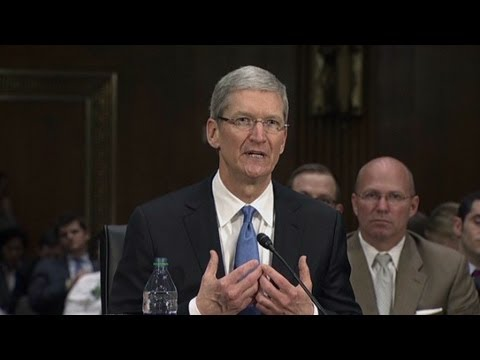 Apple CEO - Apple CEO Tim Cook does not believe Apple's offshore cash practices and tax payments are unfair and says he wouldn't preside over them if they were.